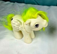 Vintage 80s - My Little Pony - G1 - Baby Surprise white Horse Toy figure MLP FS