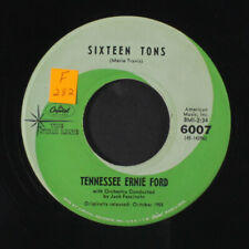 TENNESSEE ERNIE FORD: Sixteen Tons / Mule Train 45 (reissue, tol) Country