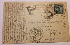 Post Card with stamp