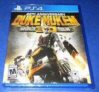 Duke Nukem 3D: 20th Anniversary World Tour PS4 *Factory Sealed! *Free Shipping!