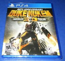 Duke Nukem 3D: 20th Anniversary World Tour PS4 *Factory Sealed! *Free Shipping!