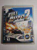 Full Auto 2: Battlelines (Sony PlayStation 3, 2006)