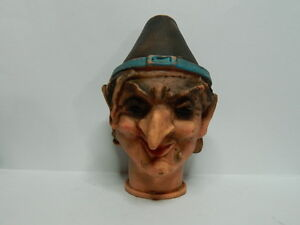 old rare vintage  Rubber puppet warlock  collections