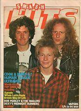 Steve Jones & Paul Cook on Smash Hits Magazine Cover 1980  Human League Ultravox