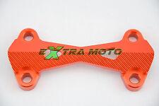 Riser supporto manubrio superiore piastra ERGAL  KTM SX SXF EXC EXCF ARANCIO