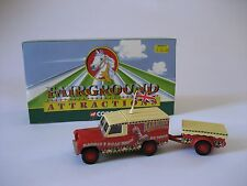 CORGI fairground attractions LAND ROVER & REMORQUE CC07401 1:50
