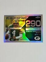 Brett Favre Packers 2008 Topps Chrome Refractor 97/199