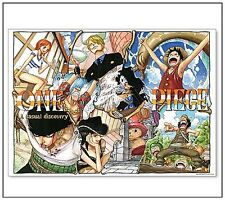 Jump Festa 2009 One Piece Poster A casual discovery Luffy Zoro Robin etc No Fake