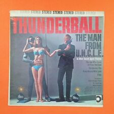 THUNDERBALL  Man From U.N.C.L.E.  LP Vinyl VG+  Secret Agent Themes SDLP206