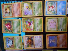 1ST ED JUNGLE NON HOLO COMMON UNCOMMON SET POKEMON CARDS YOU PICK NR MT - MINT