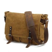 "15"" Laptop Bags Canvas Digital Camera Messenger Shoulder Bag Casual Schoolbag"