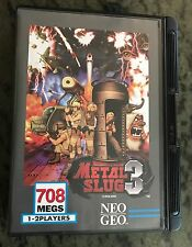 English METAL SLUG 3 for Neo Geo AES: SNK AUTHENTIC, Located in USA