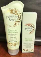 AVON PLANET SPA HYDRATING FACE MASK & MOISTURISING HAND CREAM DUO WITH OLIVE OIL