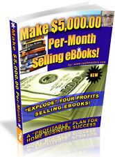 MAKE $5000.00 PER MONTH SELLING EBOOKS  PDF EBOOK FREE SHIPPING RESALE RIGHTS