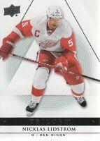 2013-14 Upper Deck Trilogy Hockey #34 Nicklas Lidstrom Detroit Red Wings