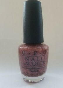 OPI Merry Berry Mauve Glitter (NL Y40) HTF 2002 Victorian Collection