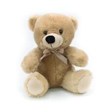 "9"" Beige Plush Teddy Bear Stuffed Animal Toy Gift New"