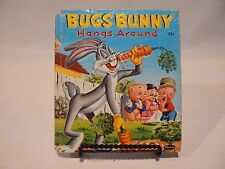 Bugs Bunny Hangs Around A Whitman Tell-a-Tale Book   1957 Vintage
