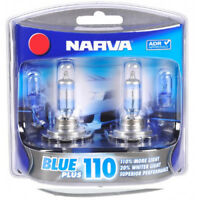 NARVA Headlight Globe BULB H4 12V 60/55W P43t Blue Plus 110 Blister Pack (2)
