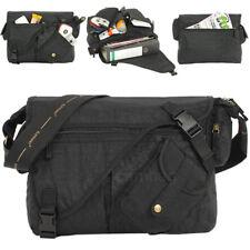 Umhängetasche ELEPHANT Tasche Messenger CRAFT BAG Kuriertasche A4 SCHWARZ NEU