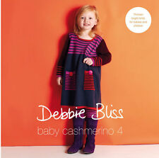 Baby Cashmerino 4 by Debbie Bliss Booklet 13 Designs