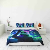 3D Marshmallow Music Quilt Cover Set Bedding Duvet Cover 9