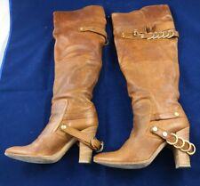 Stivali donna alti sopra il ginocchio pelle tacco alto 37 3589ed51791
