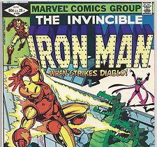 The Invincible IRON MAN #159 Diablo & His Dragon from June 1982 in VF- con. DM