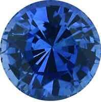 NATURAL FINE CEYLON BLUE SAPPHIRE - ROUND - SRI LANKA - TOP GRADE