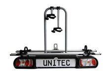 Unitec Alu Atlas Evolution Fahrradheckträger f. die Anhängerkupplung Auto Gepäck