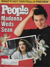 9/2/85 issue of  PEOPLE magazine  MADONNA and SEAN PENN cover