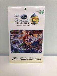 Thomas Kinkade Disney Dreams The Little Mermaid Cross Stitch Kit 5x7#52558