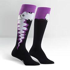 Sock It To Me Women's Funky Knee High Socks - Bride of Frankenstein