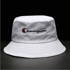 Champion Bucket Cap Fisherman Hat Sun Hat Black And White Lovers Basin Hat Hot