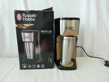 Russell Hobbs Brew & Go Coffee Maker Model 22630 boxed