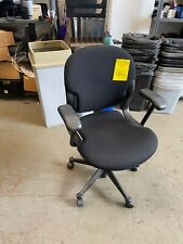 Chair With Casters By Herman Miller Equa In Black Color