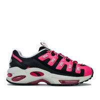 Women's Puma Cell Endura Lace up Breathable Trainers in Black