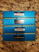 Corsair Vengeance LP 16GB (4x4GB) PC3 12800 Desktop Memory CML16GX3M4A1600C9B