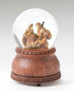 Roman Fontanini Collection 66167 - Musical Glitterdome (Silent Night) - Nativity
