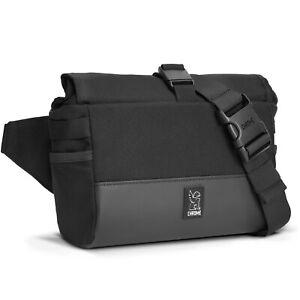 Chrome Industries Doubletrack handlebar sling bike bag Black NEW