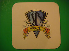 BEER Coaster ** Brasserie Bercloise Bière Au Cognac ~ FRANCE ~ See More in Store