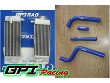 Yamaha YZ125 YZ 125 1996-2001 1997 1998 1999 2000 luminum alloy radiator+ hose