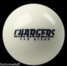 NEW SAN DIEGO CHARGERS NFL TEAM BILLIARD GAME POOL TABLE REPLACEMENT CUE 8 BALL