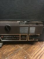 Vintage GAF Anscovision Dual 8 Movie Projector Memory Master 2