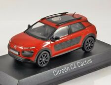 2014 CITROEN C4 CACTUS in Red 1/43 scale model by Norev