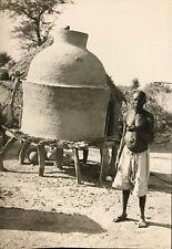Village Rhumsiki Cameroun Afrique Kapsiki CIRCA 1950 Tirage argentique Cameroon