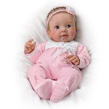 Adorable Addison Lifelike Poseable Baby Doll by The Ashton-Drake Galleries
