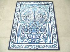 "Ceramic tile art Mosaic wall mural Arabesque Antique floral BACKSPLAH  24"" x 30"""