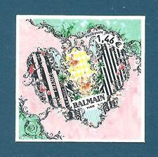 Timbre Y&T n°1373 Coeur Balmain 1,46€ autoadhésif neuf** (issu de feuille)