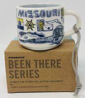 Starbucks Mini Mug Ornament 2oz 2018 Been There Series Missouri